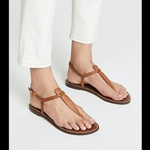 Sam Edelman Gigi T Strap Flat Summer Sandals